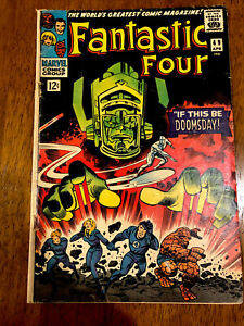 Fantastic Four 49 First Galactus; 2d Silver Surfer, Iconic Cover, Original Owner