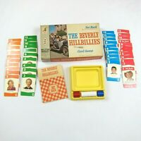 Vintage 1963 The Beverly Hillbillies Set Back Card Game Milton Bradley COMPLETE