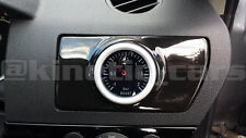 Vauxhall Astra H Air Vent Gauge Pod adapter Gloss black ABS plastic inc VXR