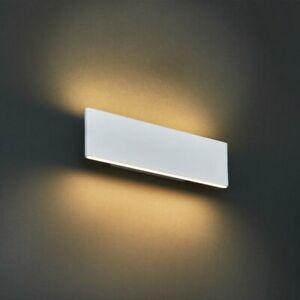 Milo Bodhi 2 LED Light Up and down Wall Light White 8cm H x 28.5cm W x 5cm D