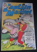 Captain Marvel Adventures Comic #135 Fawcett 1952
