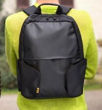 """Bulk 10 Pack Toshiba CoRace Up to 16"""" Laptop Backpack PX1838E-1NCA Black/Yellow"""