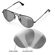 WL Polarized Transition Lenses 4 Ray-Ban Aviator Large Metal RB3025 55mm