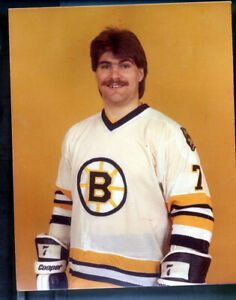 1 - 5 x 7 photo & Colour Neg of Ray Bourque Photo stamped by Al Ruelle