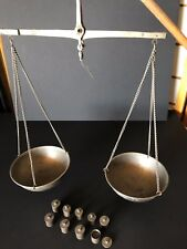 Old North African Scales and weights …beautiful collection item