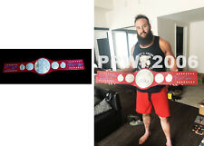 Wwe Braun Strowman Hand Signed Raw Tag Team Championship Belt With Pic Proof Coa