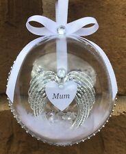 Personalised Memory Bauble, Memory Keepsake, Christmas Gifts, Christmas Bauble