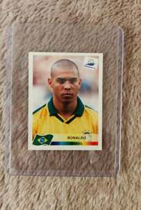 Ronaldo World Cup 1998 Brasil Panini  #28 Rookie Excellent Condition!