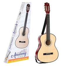 """Toyrific Academy of Music Kids Acoustic Guitar with Strap And Pick 36"""" WB-TY5905"""