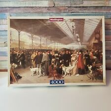WADDINGTONS DE LUXE 4000 PC JIGSAW PUZZLE GOING SOUTH PERTH STATION RARE