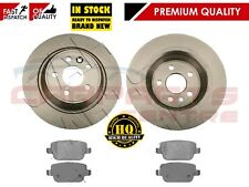 FOR FORD KUGA 2.0 2.5 REAR 302mm SOLID BRAKE DISCS & PAD PADS SET 2008-2013