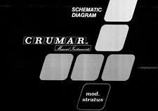 Crumar Stratus, Bit Master Keyboard Schematic Diagram Service
