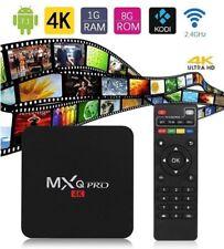 MXQ Pro 4K Quad Core Android 7.1 TV Box K 18.0 Ultra HD 3D Media Player Streamer