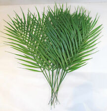 Pack of 12 Artificial Palm leaves 45cm - Plastic fern / cycas