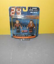 2007 Fox Series 24 Minimates Jack Bauer & Andre Drazen 2-Pack