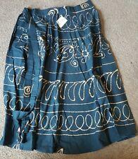 Rajrang handmade design Cotton Green Casual Skirt