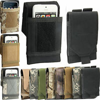 Sports Army Camou Belt Pouch Case Cover Holder Holster for Apple iPhone Models