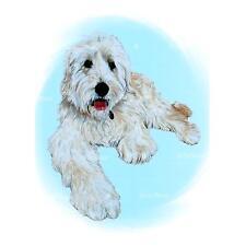 Goldendoodle Art Print Dog Portrait