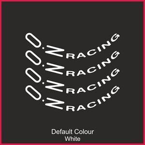 "Oz Racing Wheel Decals 19"" X8,Vinyl, Sticker, Graphics,Car, Wheels, N2142"