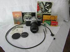Pentax Asahi K1000 35mm SLR Film Camera with Tokina 35-70 mm Lens & Accessories