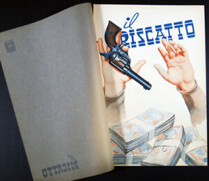 brochure film HELD FOR RANSOM - IL RISCATTO Grant Withers Blanche Mehaffey 1942