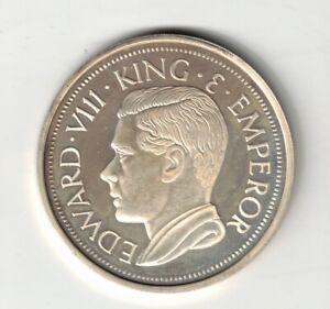 Canada Newfoundland 1936 Crown Edward VIII Fantasy Piece Punjab Mint 1972