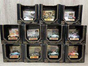 LOT OF 11 Racing Champions Premier Edition 1992-93 & 94. Card/Car/Stand NIB