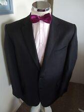 """SAVOY TAYLORS GUILD Men's Grey Stripe Suit Jacket C46"""" Reg Drop Classic Fit Wool"""