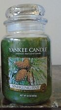 Yankee Candle ~ Sparkling Pine~  22 oz 1 Single  New  Winter Holiday Free Ship