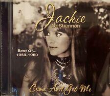 JACKIE DeSHANNON Come & Get Me - Best of 1958-1980