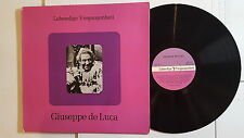 GIUSEPPE DE LUCA -  Lebendige Vergangenheit AUSTRIA PREISER (LP) Opera Baritone
