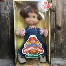 Vintage Cheek Ums Doll Peach Cheeks 14 Inch cheekums Rare