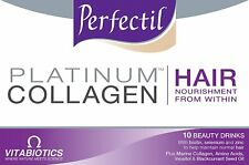 Vitabiotics Perfectil Platinum Collagen Hair - 10 Advanced Beauty Drinks
