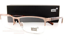 Brand New MONT BLANC Eyeglass Frames MB 636  034  Shiny Light Bronze For Men