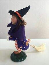 New ListingByers Choice Carolers Trick Or Treat Halloween Girl Witch With Broom