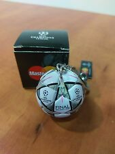 Rare Champions League Final 2016 Mini Ball Key Chain Milano Atletico Real Madrid