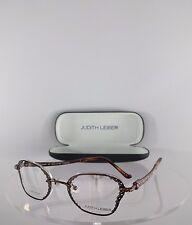 Brand New Authentic Judith Leiber JL1635C 02 Eyeglasses Titanium Diamond Rimless