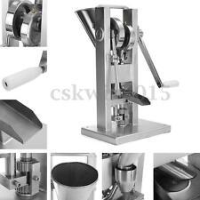 Manual Single Punch Tablet Press Pill Pellet Making Machine with Hopper Maker