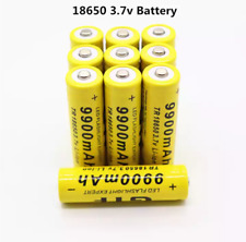 2-8 pcs battery 3.7V 9900mAh rechargeable liion battery for power bank
