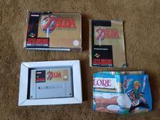 Zelda A Link to the Past Boxed Map GENUINE ORIGINAL SNES GAME Super Nintendo PAL