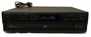 Kenwood 5 CD Compact Disc Multi Player Carousel Changer DP-R791