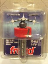 "Rabbeting Bit Freud 32-102 Router Bit 1-1/4"" Diameter Brand New"