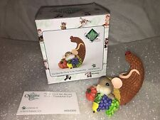 "Charming Tails ""You Give Me Plenty To Be Thankful For"" Dean Griff Nib"