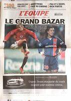 L'Equipe Journal 11/6/2003; Les 100 du tour de France/ Armstrong face au chrono