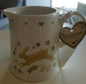 Cooksmart Woodland Collection Cream / Milk Jug, Hare design