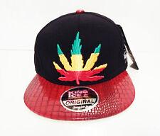men womens weed cannabis snapback caps hat dope peak marjuana baseball hands