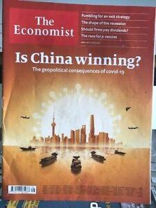 MAGAZINE THE ECONOMIST N°16 - april 18th-24th 2020 - IS CHINA WINNING? - TBE
