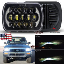"5x7"" 7x6'' LED Headlight with H4 Harness for Toyota 95-97 Tacoma & 88-95 Pickup"