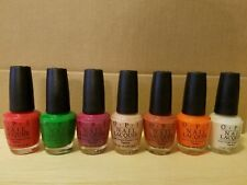 Opi nail polish (set of 7)