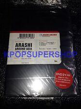 Arashi Around Asia Thailand - Taiwan - Korea 2 DVD Korea Version Rare OOP